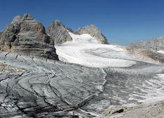 Die weißen Flecken des Klimawandels am Dachstein - Leben - derStandard.at › Greenlife
