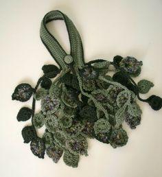 LEAF TIPS COASTER Crochet Pattern - Free Crochet Pattern Courtesy