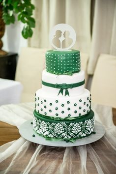 Our fantastic green and white wedding cake with unique laser-cut glass cake topper showing our faces. Glass Cakes, Cut Glass, Laser Cutting, Cake Toppers, Wedding Cakes, Wedding Inspiration, Faces, Cupcakes, Cookies