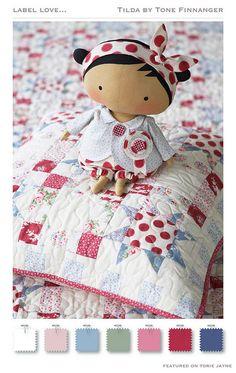 Tilda Paper Printables | Tilda Sweetheart Autumn 2015 2-01