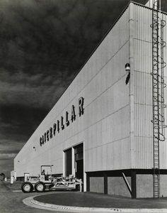 Caterpillar of Australia Pty Ltd Tullamarine. Victoria (View of shed)
