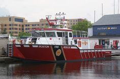 #Boston #fireboat fire department water transportation first responder #firefighter