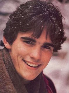 Young Matt Dillon with Brown Scarf