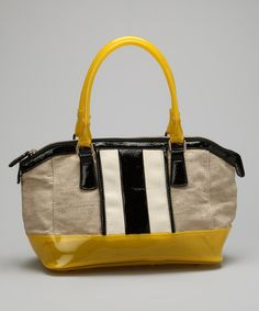 Take a look at this Yellow Ruby Tote by Melie Bianco on #zulily today!