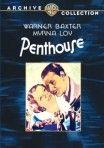 Penthouse (1933) - Warner Baxter, Myrna Loy, Charles Butterworth, Mae Clarke, dir: W.S. Van Dyke