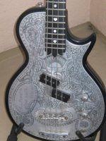 John Waite's 1976 Zemaitis Custom Deluxe Metal Front Bass (available for purchase)