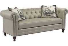 Drexel Heritage Upholstery - Bennett Sofa (Dropped Fabric 70612-88)