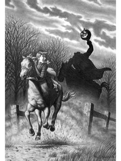 sleepy hollow book illustration http://www.theatreofyouth.org Sleepy Hollow