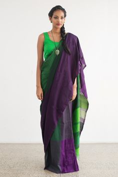 Wineberry Saree from FashionMarket.lk