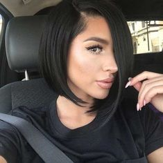 Asymmetrical Bob Haircuts you should try //  #asymmetrical #Haircuts #Should