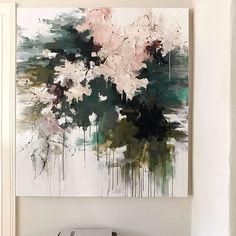 Peonies in the Shade 55x50 will be in the April show @craigheadgreen #abstractart #abstractlandscape #contemporaryart #modernart #garden #interiordesign #color #art #artist #abstract #carlosramirez