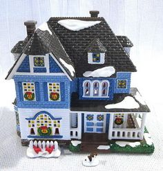 Department 56 Snow Village Shingle Victorian Architecture Building #56.54884
