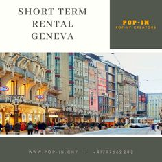 Pop-up with a short term rental, Geneva and take your venture to a whole new level. Integrating with your consumers by physical presence can have a massive impact on their opinion and choices.