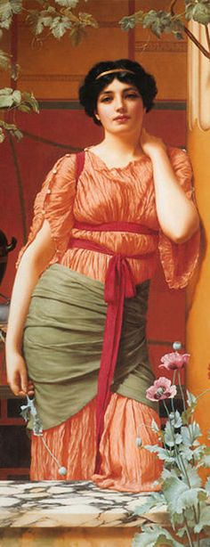 In my next life, I wanna be a gypsy - painting image by Godward - [wikipedia creative commons - can legally be used for my article]