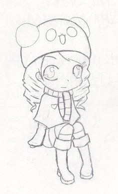 Anime tierno para dibujar , Imagui