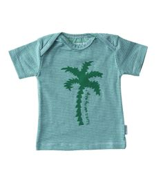 HAVE A SUNNY DAY! Green palm print shirt, now available at Little Label! www.littlelabel.nl