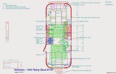 Byam's '55 Flying Cloud: Air Conditioner - Plan - Floor Plan