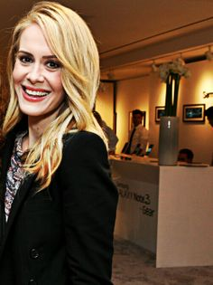 ahs sarah paulson I have the world's biggest crush on her.