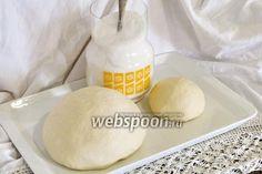 Фото Тесто для вареников на кефире