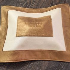 Gold and Ivory Shabbat Challah Cover from @tissu_choux... STUNNING!!