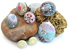 Crystal Clay pictures.  The artistic expression possibilities with crystal clay are endless.