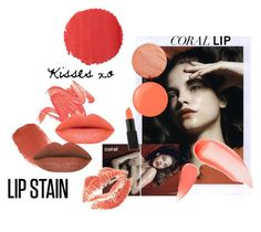 """coral kisses"" by ashleyybern ❤ liked on Polyvore featuring beauty, tarte, INDIE HAIR, Burberry, Laura Mercier, Essie and NARS Cosmetics"