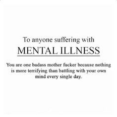 Never Alone (Bipolar/ BPD/Self-Harm/Depression/Anxiety Support) Mood Quotes, True Quotes, Depressing Quotes, Random Quotes, Quotes Quotes, R M Drake, Mental Health Matters, Positive Mental Health, Mental Health Awareness