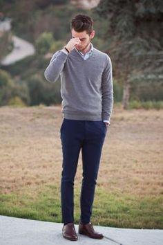 look suéter masculino