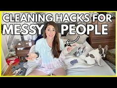 LIFE-CHANGING CLEANING SECRETS FOR MESSY PEOPLE | How I Became Tidy (when I used to be a mess!) - YouTube Messy People, Learning To Be, Organizing, Organization, Cleaning Hacks, The Secret, Life Changing, Change, Motivation