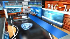 early rendering of PAC-12