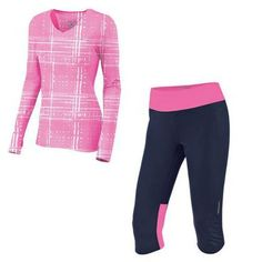 This outfit is perfect for a warmer fall day or an indoor run on the treadie! @Brooks Running