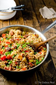 Rotisserie Chicken and Chorizo Jambalaya