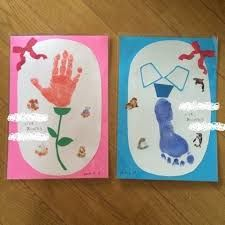 jp user_images 20140913 21 40 j Mothers Day Crafts For Kids, Fathers Day Crafts, Diy Crafts For Kids, Baby Crafts, Toddler Crafts, Square One Art, Fingerprint Art, Footprint Crafts, Handprint Art