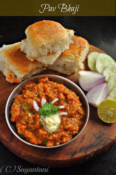 Popular dish in India: Pav bhaji