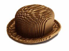 Hat-itecture, Austin Mergold, eco-fashion, sustainable fashion, green fashion, eco-friendly hats, eco-art, London