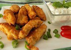 Kuřecí hranolky s bylinkovým dipem Dip, Food And Drink, Ethnic Recipes, Salsa