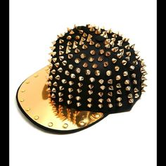 """Selling this """"SNAPBACK CAP WITH SPIKE STUDS AND PLATE"""" in my Poshmark closet! My username is: hypnotik. #shopmycloset #poshmark #fashion #shopping #style #forsale #Accessories"""