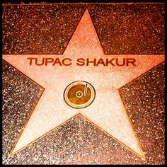 Tupac Shakur walk of fame.finally got that star after 17 years of his death? Tupac Shakur, 2pac, Hollywood Star Walk, Best Rapper Ever, Tupac Pictures, Love Rap, Hip Hop World, Eminem, Death