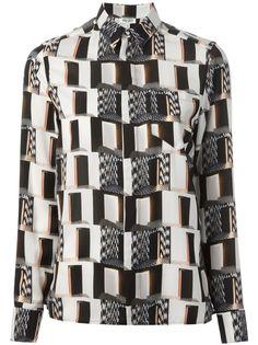 Camicia stampata KENZO #alducadaosta #fw #fall #winter #women #fashion #style #accessories #apparel #newgraphic #prints #colors #trends #kenzo