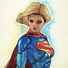 by mike blenner. supergirl