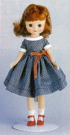 Tiny Betsy McCall in a Schooldress