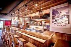 Restaurant Sonnegg Apres Ski, Liquor Cabinet, Conference Room, Restaurant, Furniture, Home Decor, Photos, Fine Dining, Architecture