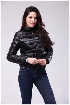 Moncler Femme Vest Court Noir - doudoune moncler pas cher