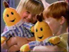 Bananas in Pyjamas (USA) TV ad commercial, circa 1996 This is one of many children-targeted commercials I pulled out of a VHS tape I found off the street.