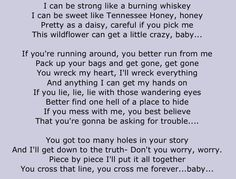 Better find one hell of a place to hide... #gloriana #trouble-- LOVE this song!!