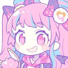 Cute Anime Chibi, Kawaii Anime, Pastel Goth Art, Pikachu, Pokemon, Picture Icon, Dibujos Cute, Cartoon Art Styles, Kawaii Art