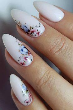 28 stunning wedding nail ideas to match the wedding dress, bridal nails, wedding nail art . Perfect Nails, Gorgeous Nails, Pretty Nails, Amazing Nails, Bridal Nails, Wedding Nails, Wedding Bride, Wedding Dresses, Spring Nails