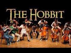 "You are welcome Pinterest.  Is this not GORGEOUS!?!  ""The Hobbit - Misty Mountains Orchestral Cover"" Cellos, Legolas, Gandalf, Music Videos, Geek Out, Nerd Love, Mountains, Cover, Geek Stuff"