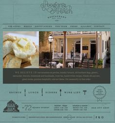 Great site that uses a simple dual colour theme for all its text, but fails to integrate the photos effectively into the page. Pag Web, Small Business Web Design, Victorian Townhouse, Website Design Layout, Website Designs, Palm Beach Fl, Showcase Design, Texture Design, Great Stories