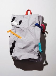 Strap color explosion! NEWS | | MEN'S NON-NO WEB Men Non'no web Ru reveal backpack Art